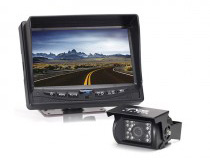 Rearview monitor on 5th wheel