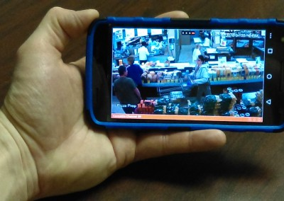 Smart Phone Single Camera View
